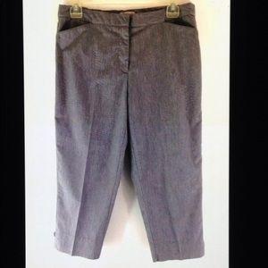 6f0bf051cdf Roz   Ali Pants - Roz   Ali Plus Size Classic Fit Cotton Capri Pants